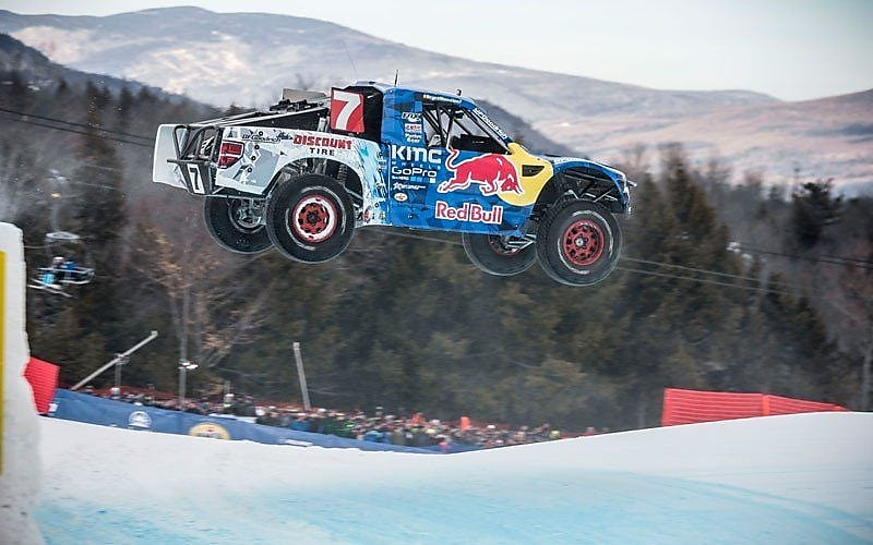 Bryce Menzies' truck at Red Bull Frozen Rush