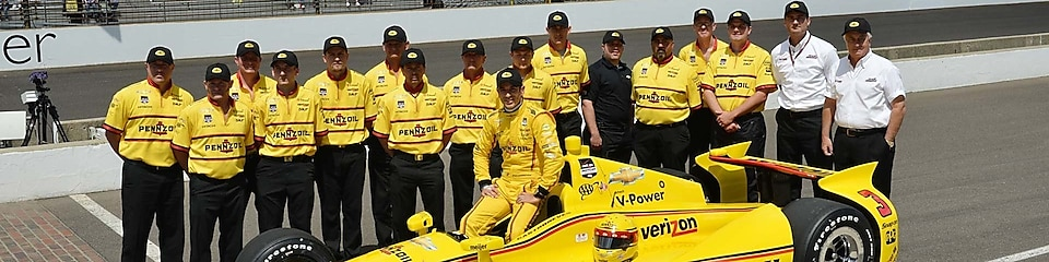 Pennzoil Team Penske Racing Team Yellow Submarine