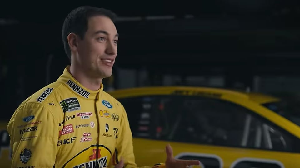 Don't just take it from us. See why Joey Logano uses motor oil made from natural gas.