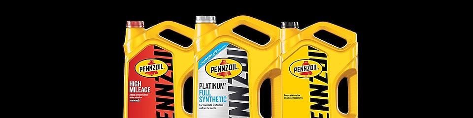 Types of Pennzoil Motor Oil and Their Recommended Use
