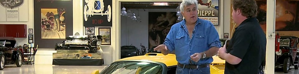 Hennessey Returns to Jay Leno's Garage