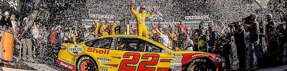It's been a career year for Joey Logano.