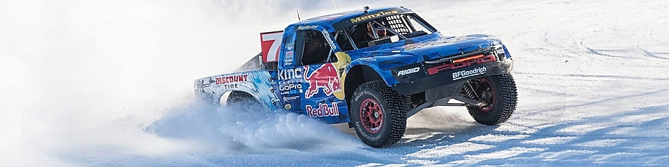 Bryce Meznies in Red Bull Frozen Rush.