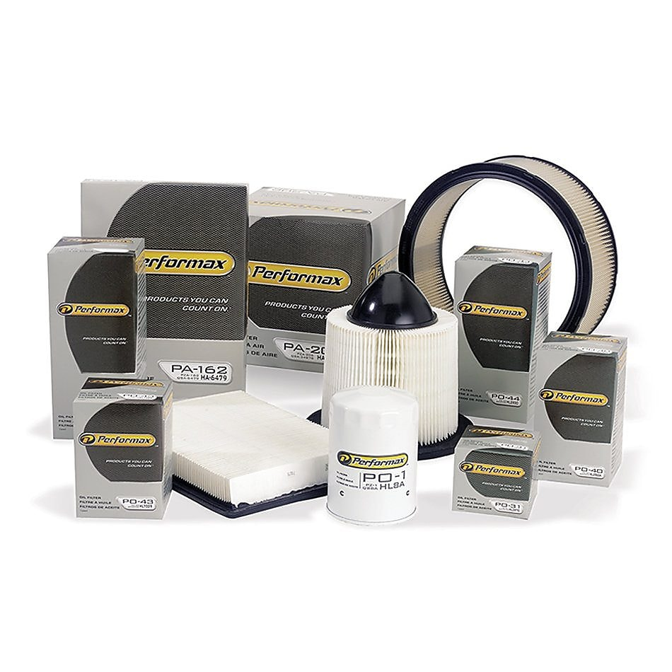 Performax Family of Oil Filters and Air Filters