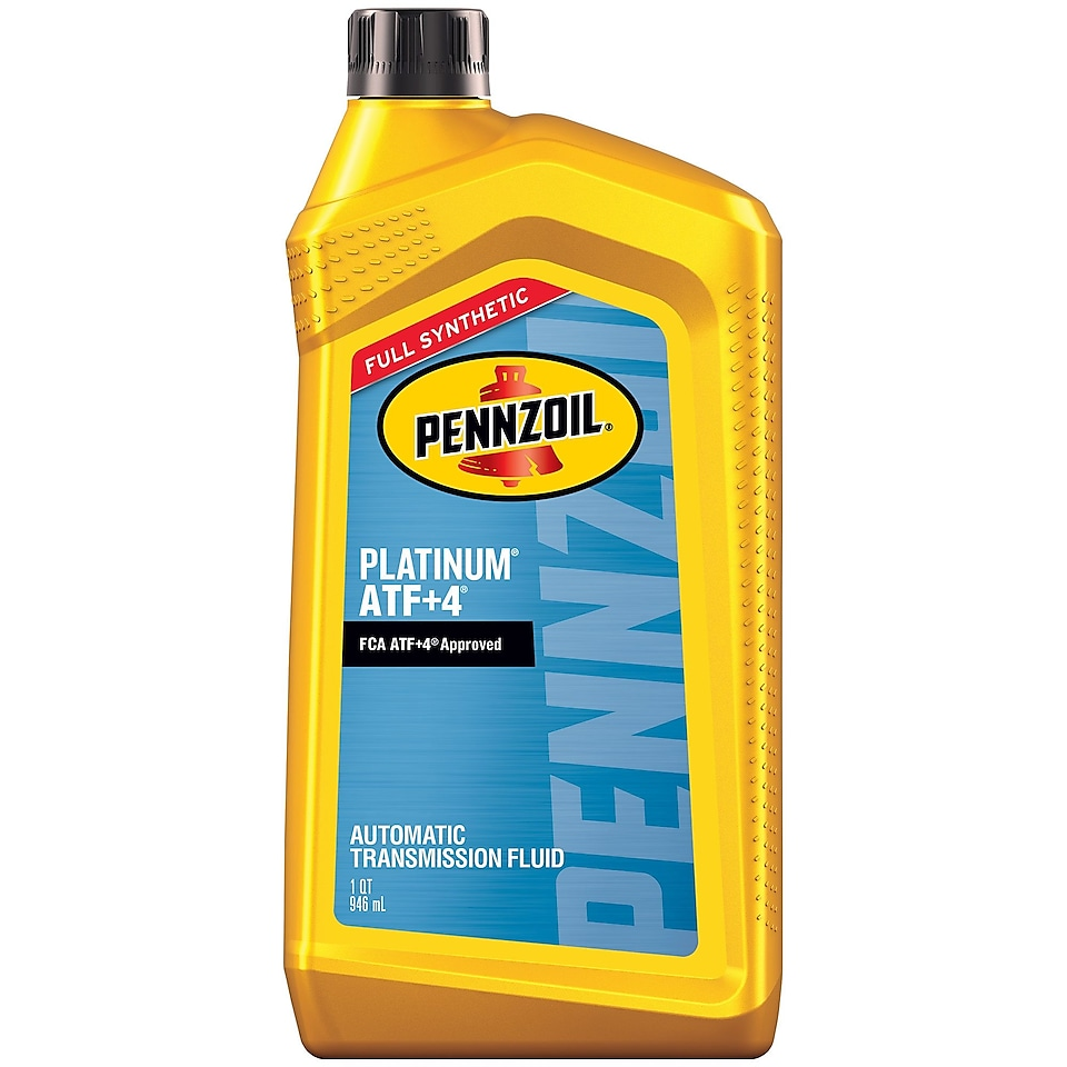 Pennzoil Platinum ATF + Full Synthetic Automatic Transmission Fluid 1 QT Bottle