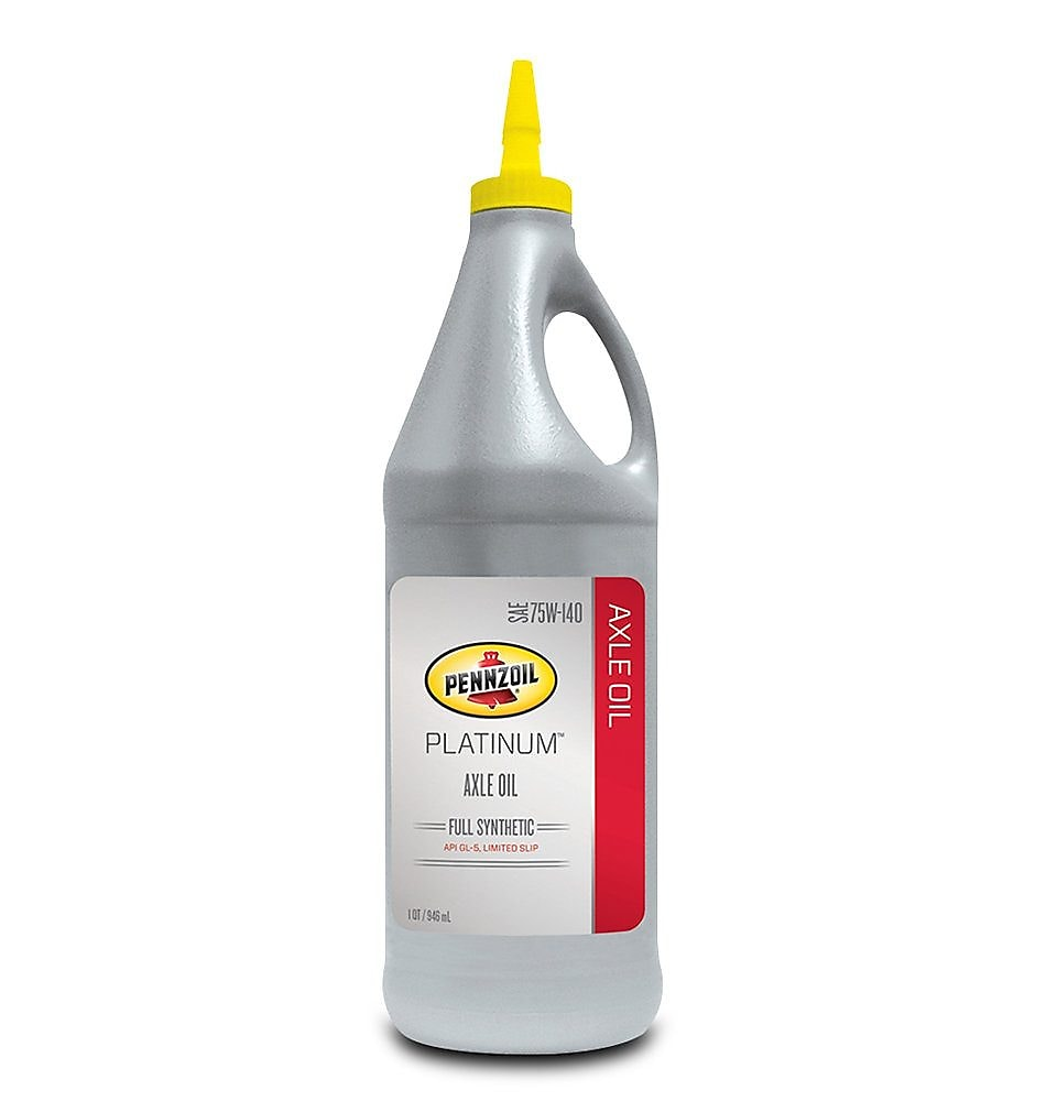 Pennzoil Platinum Full Synthetic 75W-140 Axle Oil 1 QT Bottle