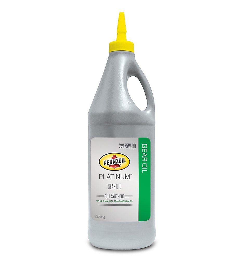 Pennzoil Platinum Full Synthetic 75W90 Gear Oil 1 QT Bottle