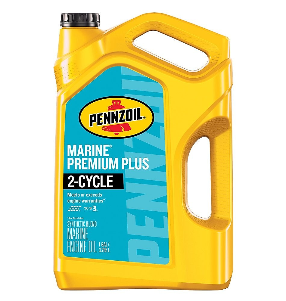 Synthetic Blend 2-Cycle Outboard Engine Oil | Pennzoil