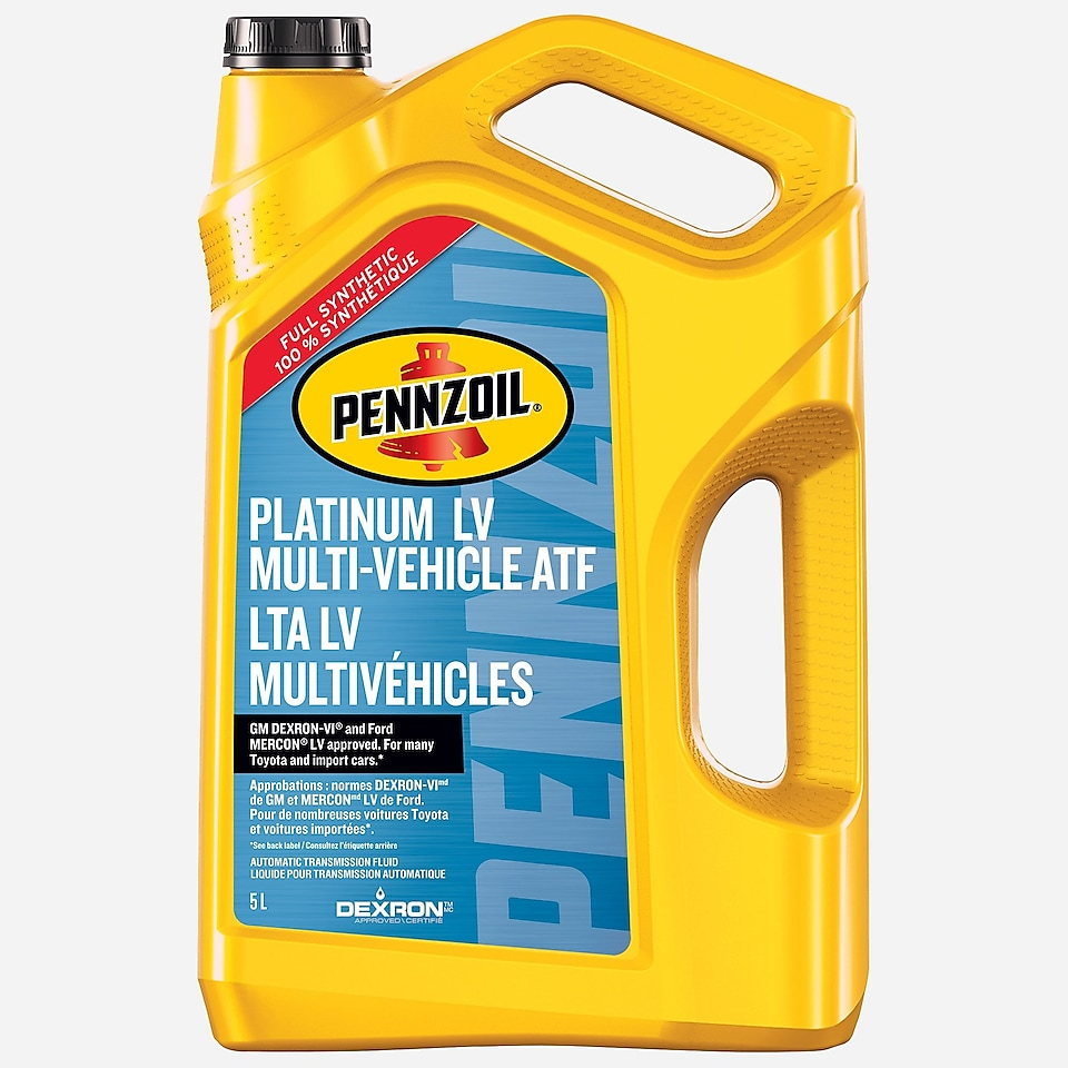Pennzoil Platinum LV Multi-Vehicle ATF 946 mL Bottle