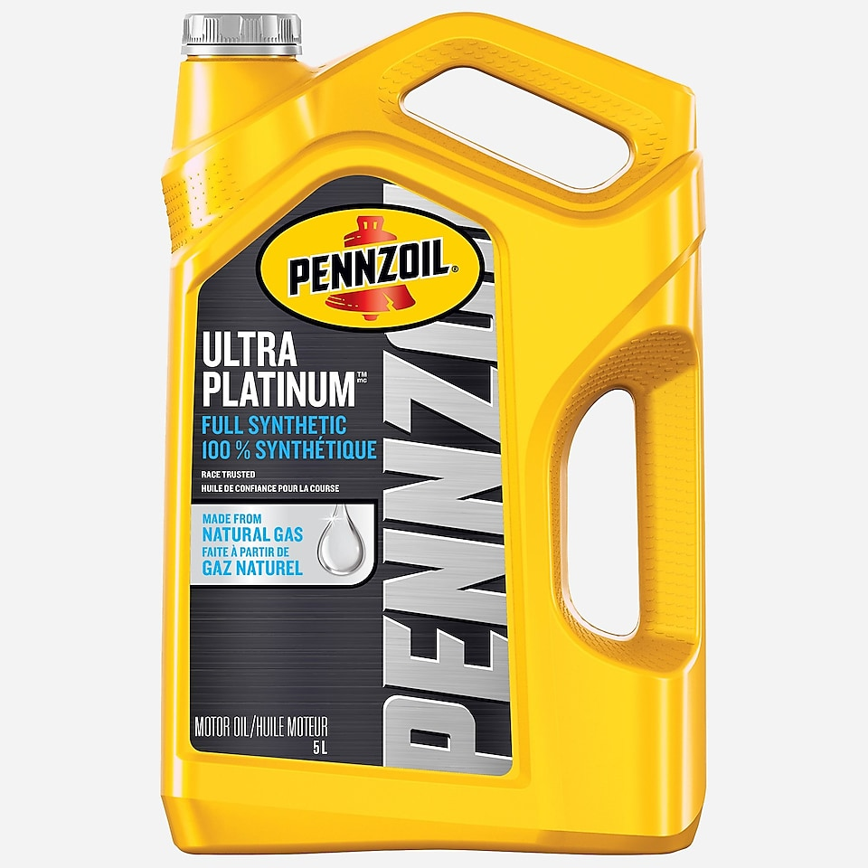 Pennzoil PurePlus Ultra Platinum Full Synthetic Motor Oil 5 L Bottle