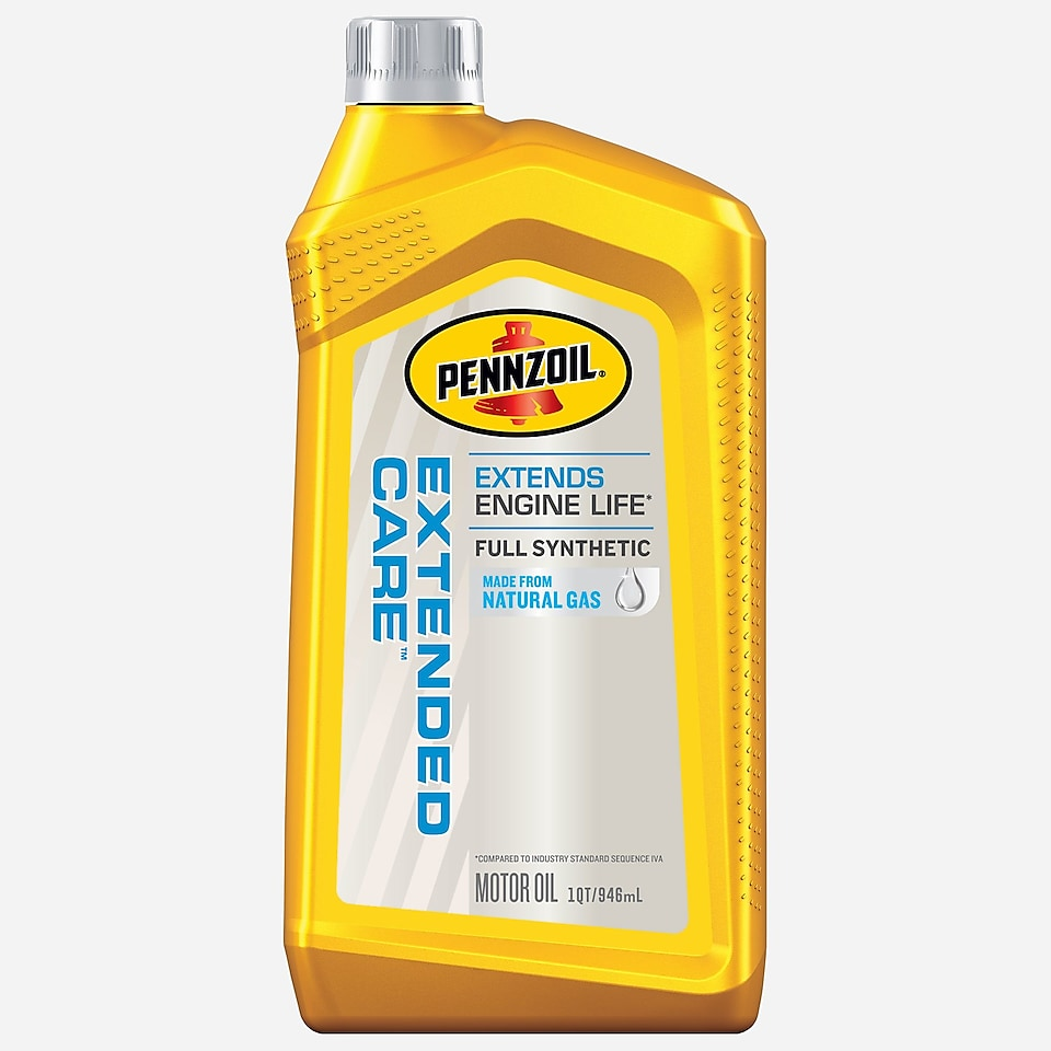 Pennzoil Extended Care 1 QT yellow bottle