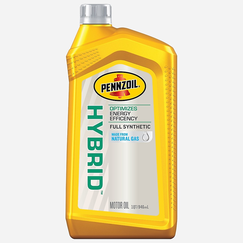 Pennzoil Hybrid 1 QT yellow bottle