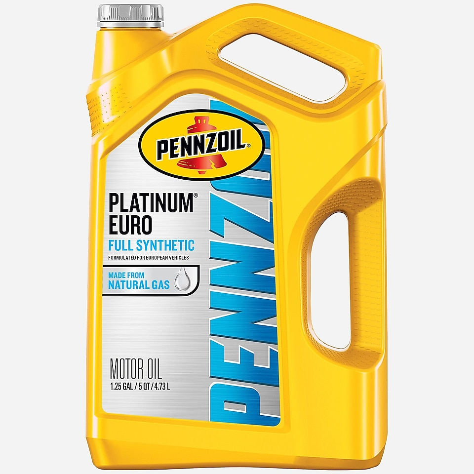 Pennzoil Platinum Euro bottle