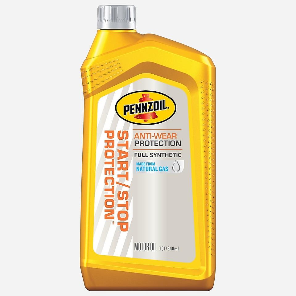 Pennzoil Start/Stop Protection 5 QT bottle