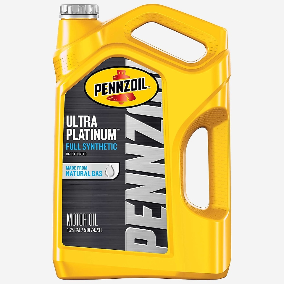 Pennzoil PurePlus Ultra Platinum Full Synthetic Motor Oil 5 QT Bottle