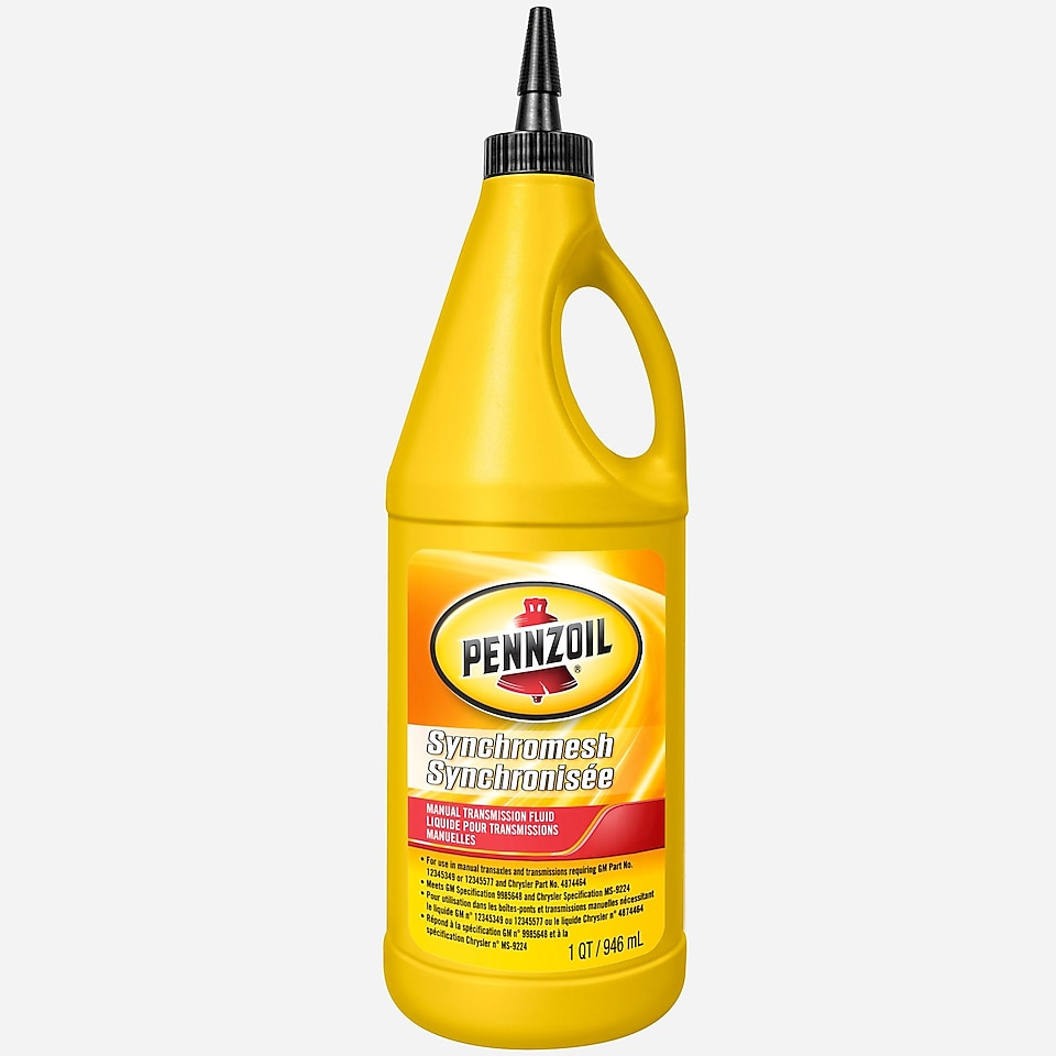 Pennzoil Synchromesh Manual Transmission Fluid 1 QT Bottle